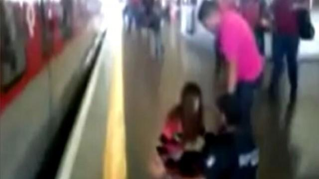 Instant Index: Fast-Acting Heroes Rescue Girl from Oncoming Subway Train