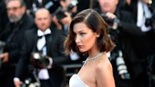 Bella Hadid nearly flashed everyone at Cannes