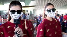 Daisy Shah Spotted at Airport Andheri