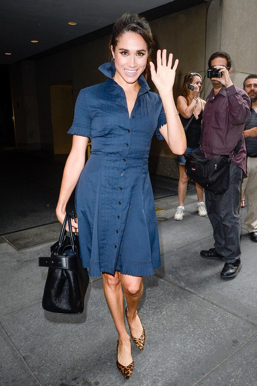 Meghan Markle Arrives in London as Pippa Middleton's ...