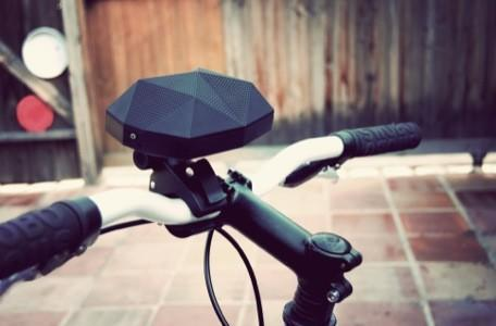 Turtle Shell speakers bring Bluetooth-enabled weather-resistant music to bikes, strollers and more