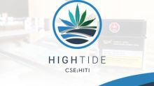 High Tide Announces Opening of 1st KushBar Location Bringing its Total to 25 Branded Retail Cannabis Stores across Canada
