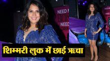 Richa Chadda dazzles in shimmery short dress at shakeela's calendar launch