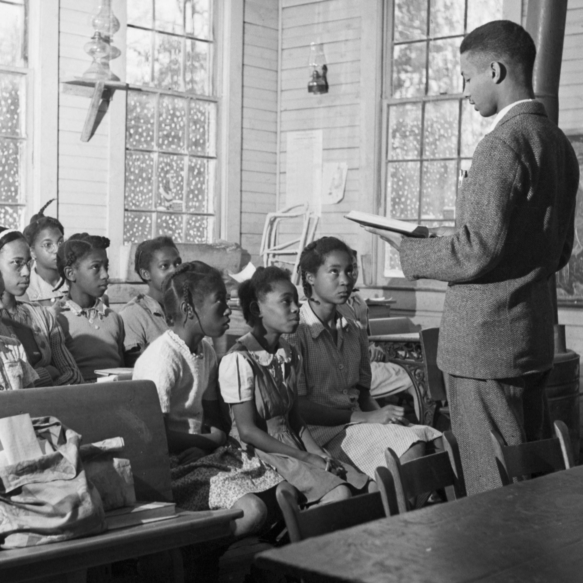 segregated schools cartoon - HD 1940×1940