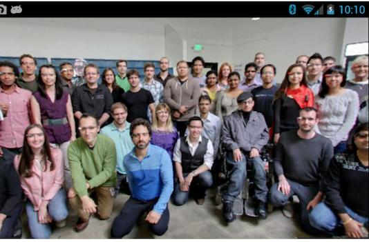 Google Glass easter egg reveals the team that built it