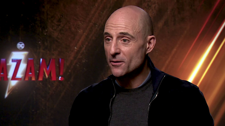 'Shazam!' interview: Mark Strong discusses playing his second DC villain after 'Green Lantern'