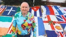 Britain's biggest private collection of flags - including every country in the world