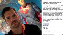 Photoshoppati via i baffi di Superman (con un risultato non perfetto)