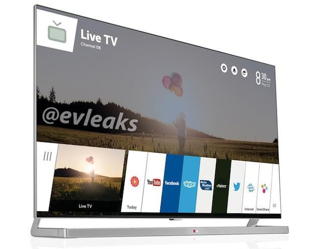 Leak shows LG's radical new interface for its webOS Smart TVs