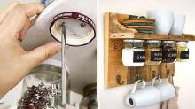 'So clever!': Old-school storage hack makes kitchen comeback