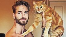Steady Yourself For The Instagram Account That Stars Dreamy Men And Their Cats