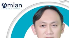 Amlan International Names Dr. Kreangkrai Sangthongdang Head of Thailand