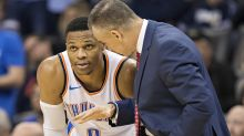 Russell Westbrook isn't worried about the Thunder's start, but OKC's got issues