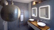 The beauty of the double-sink bathroom