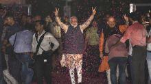 Modi se reúne con su partido tras triunfo electoral en India