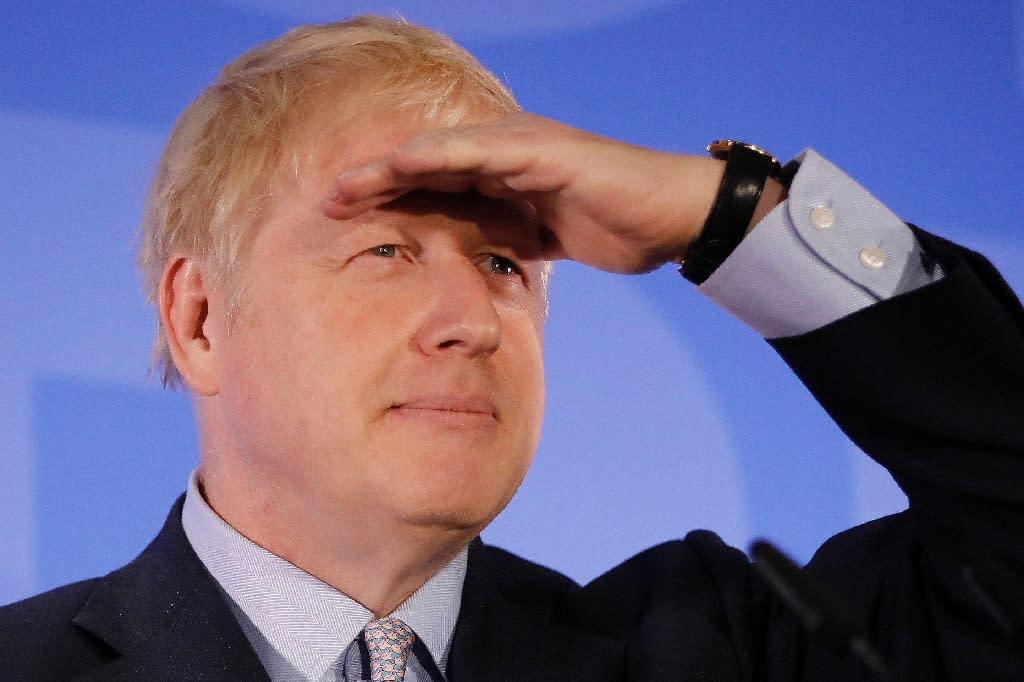 Rivals for British PM take aim at Johnson