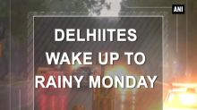 Delhiites wake up to rainy Monday