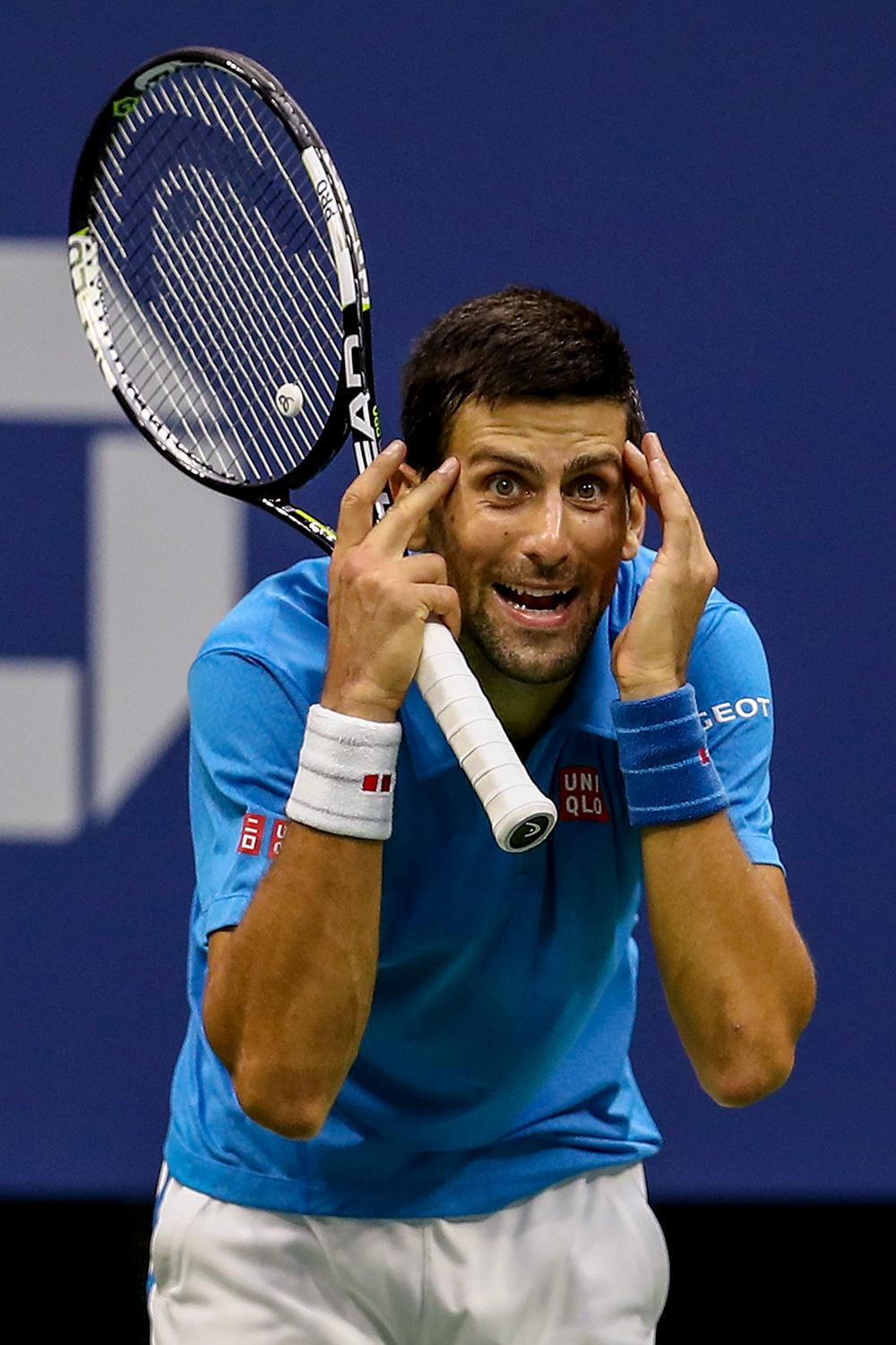 Novak Djokovic Defaulted From Us Open After Hitting Line Judge In Throat