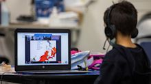 Virtual-only schooling drops below 10% for 1st time