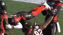 CFL Players Do Limbo To Celebrate A Touchdown And The Party's On