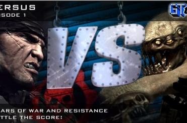 Time to battle, Gears of War vs Resistance