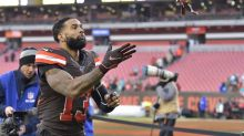 Odell Beckham Jr.'s hands are part of problem with Browns