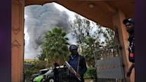 Kenyan Forces Defusing Explosives In Mall