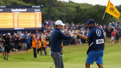 How Michael Greller, the former math teacher from Seattle, helped guide Jordan Spieth to Open victory