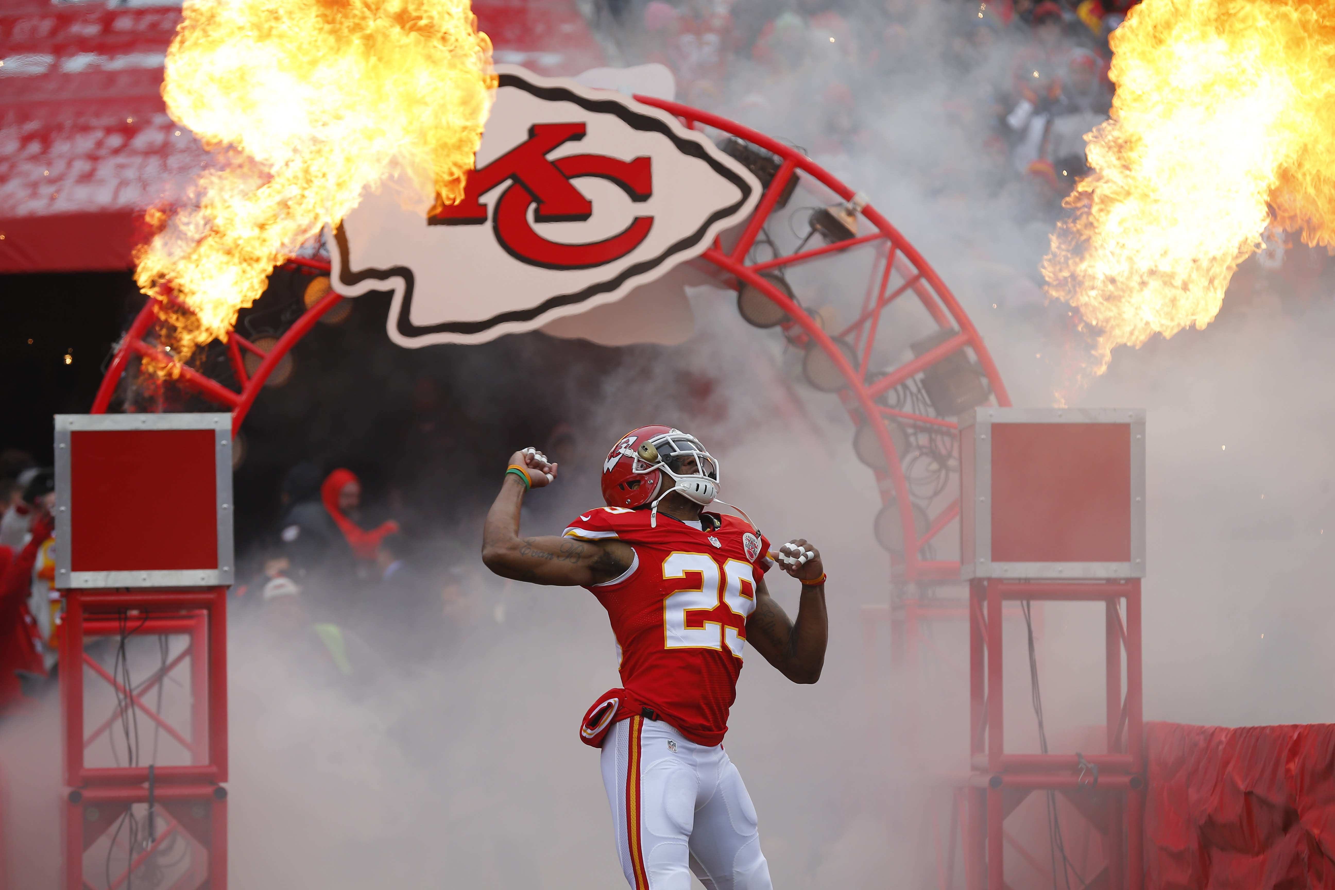 Kansas City Chiefs safety Eric Berry feared to have lymphoma