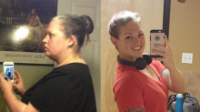 This mum lost 9 stone in one simple way