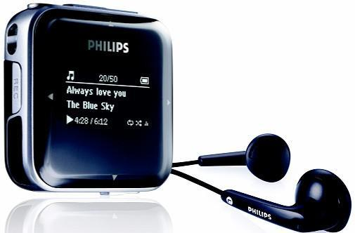 Philips releases three yawn-inducing GoGear MP3 players