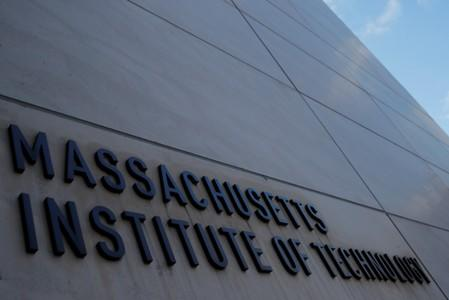 A sign at Building 76 at the Massachusetts Institute of Technology in Cambridge
