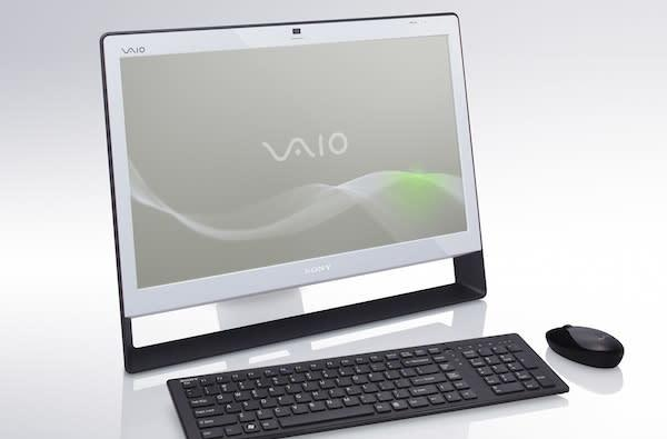 Sony VAIO J joins the touchscreen all-in-one ranks