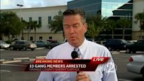 Police: 'Operation Strong Arm' nets 33 central Fla. gang members