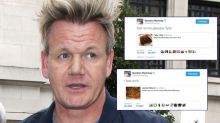 Gordon Ramsay roasts people on Twitter over their 's**t' food