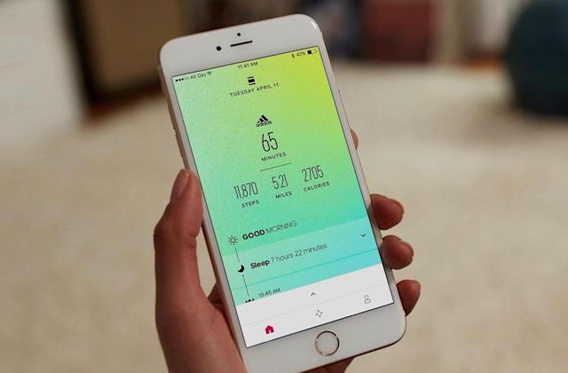 Adidas' All Day fitness app hits iOS and Android devices