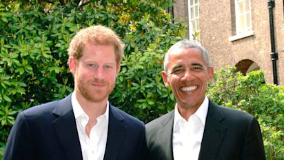 Prince Harry is interviewing Barack Obama for Radio 4