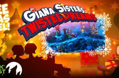 Giana Sisters: Twisted Dreams offers free standalone Xmas level