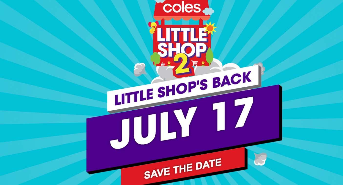'It's back!' Coles confirms new Little Shop collection to begin next week