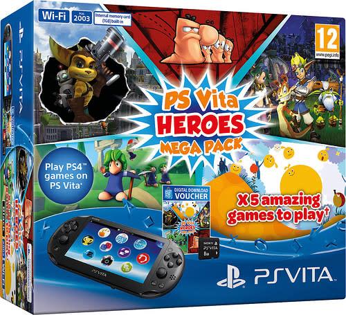 Europe's heroic Vita Mega Pack has Worms, Ratchet & Clank