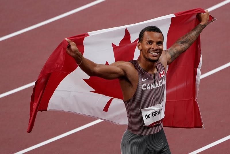 'I finally did it, mom': De Grasse's mother recounts son's excitement over gold win