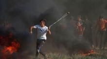 Tropas de Israel matam 2 palestinos durante protestos na fronteira com Gaza