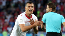 Why Swiss star's goal celebration enraged Serbia