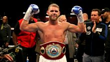 """Billy Joe Saunders has suspension lifted but fined £15,000 for """"silly mistake"""""""