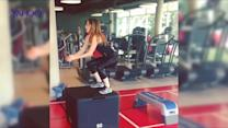 Check out Made In Chelsea's Rosie Fortescue and her SERIOUSLY amazing work out!