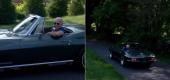 Screen shots from Joe Biden's video about his Corvette C2. (Joe Biden)