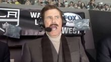 Will Ferrell's Ron Burgundy Calls Real NHL Game And It's Puckin' Funny