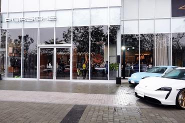 全球第一座新世代(Porsche Studio Next Level)台南保時捷都會概念店正式開幕