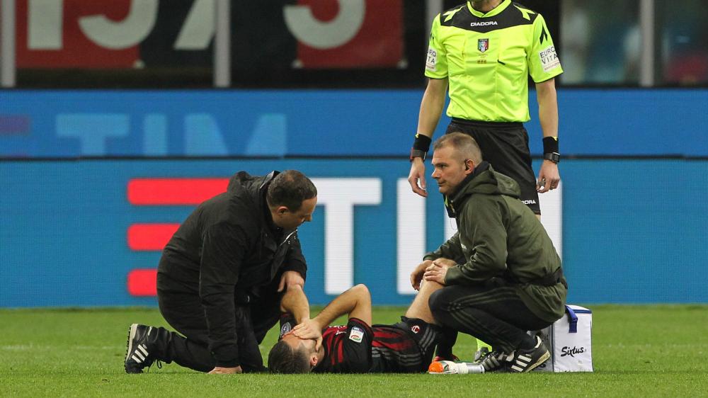 Tegola Milan: problema alla coscia destra per Bertolacci, lunedì gli esami