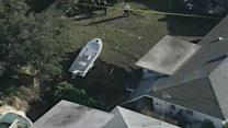 Florida Home Collapses Into Sinkhole